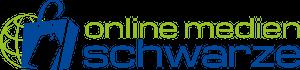 online-medien-schwarze logo
